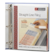Smead 89500 Clear Poly Three-Ring Envelope