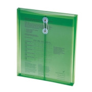 Smead 89543 Green Poly Envelopes with String-Tie Closure