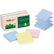 Post-it Greener Pop-up Notes in Sunwashed Pier Colors