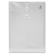 Sparco String & Button Poly Hide Envelope - 1