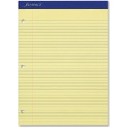 Ampad Perforated 3HP Ruled Double Sheet Pads