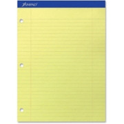 Ampad Perforated 3HP Ruled Double Sheet Pads - 1