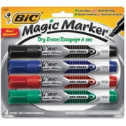 BIC Chisel Tip Dry Erase Magic Markers - 1