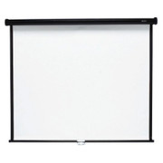 "Quartet Manual Projection Screen - 84.9"" - 1:1 - Wall Mount, Ceiling Mount"