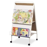 Balt Double-Sided Display Easel With Wheels