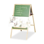 Balt Double-Sided Instructional Magnetic Easel