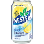 Nestea Diet Lemon Iced Tea Can