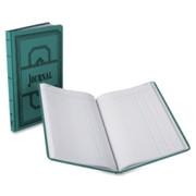Boorum & Pease Blue Canvas Book, Journal-Ruled Printed Manual