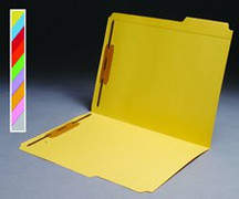 Top Tab Colored File Folder - Orange
