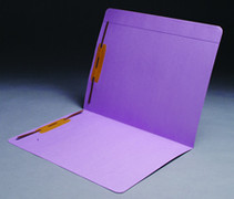 Top Tab Colored File Folder - Lavender - 1