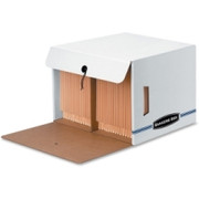 Bankers Box Side-Tab Drop-Front - Letter - TAA Compliant