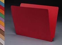 End Tab Colored File Folder - Orange - 2
