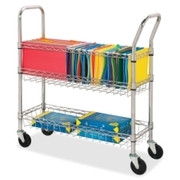 Lorell Wire Mail Cart