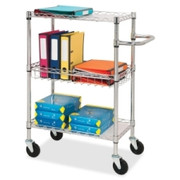 Lorell 3-Tier Rolling Carts - 1