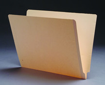 End Tab Manila File Folder - Manila - 10