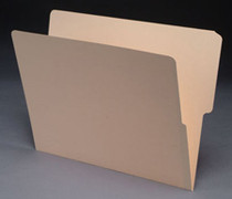 End Tab Manila File Folder - Manila - 12