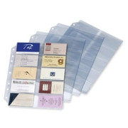 Cardinal Poly Business Card Refill Page