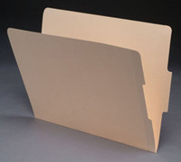 End Tab Manila File Folder - Manila - 16