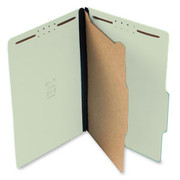 Top Tab Pressboard Classification Folder - Pale Green