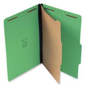 Top Tab Pressboard Classification Folder - Emerald Green
