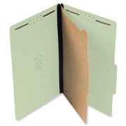 Top Tab Pressboard Classification Folder - Pale Green - 1