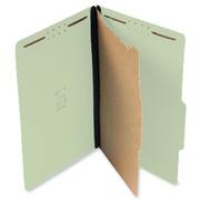 Top Tab Pressboard Classification Folder - Pale Green - 1
