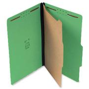 Top Tab Pressboard Classification Folder - Emerald Green - 1