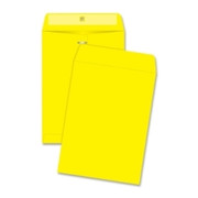 Quality Park Brightly Colored Clasp Envelope - 1