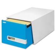 """Bankers Box Stor/Drawer Premier - 24"""" Letter, Blue"""