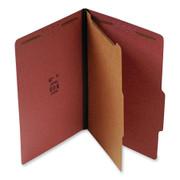 Top Tab Pressboard Classification Folder - Red - 1
