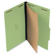 Top Tab Pressboard Classification Folder - Green - 2