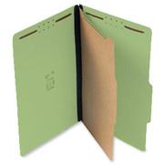 Top Tab Pressboard Classification Folder - Green - 2