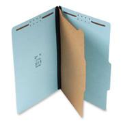 Top Tab Pressboard Classification Folder - Blue - 1