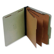 Top Tab Pressboard Classification Folder - Green - 3