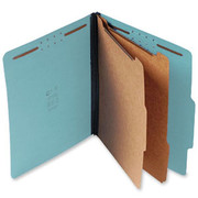 Top Tab Pressboard Classification Folder - Blue - 2