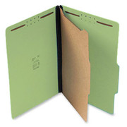 Top Tab Pressboard Classification Folder - Green - 5