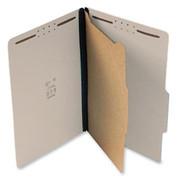 Top Tab Pressboard Classification Folder - Gray - 3