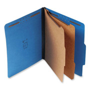 Top Tab Pressboard Classification Folder - Cobalt Blue - 2