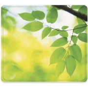 Fellowes Recycled Mouse Pad - Leaves - TAA Compliant