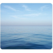 Fellowes Recycled Mouse Pad - Blue Ocean - TAA Compliant