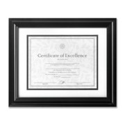 Burnes High Gloss Document Frame - 1