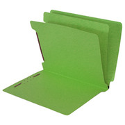 End Tab Colored Classification Folder - Green