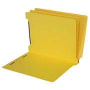 End Tab Colored Classification Folder - Yellow