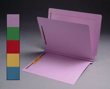 End Tab Colored Classification Folder - Yellow - 1
