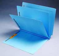 End Tab Colored Classification Folder - Blue - 2