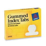Avery Gummed Round Index Tab