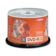 Imation DVD Recordable Media - DVD-R - 16x - 4.70 GB - 50 Pack Spindle