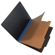 Fusion Series Pressboard Classification Folder - Blue Gusset