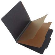 Fusion Series Pressboard Classification Folder - Gray Gusset