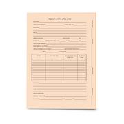 LegalSupply Tri-Fold Foreign Patent Application Folder - Salmon